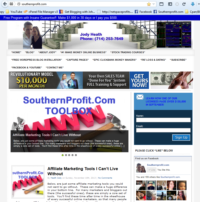 SouthernProfit.com New Site